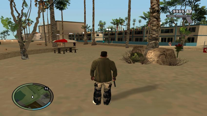 GTA San Andreas HUN - Portable (modokkal)