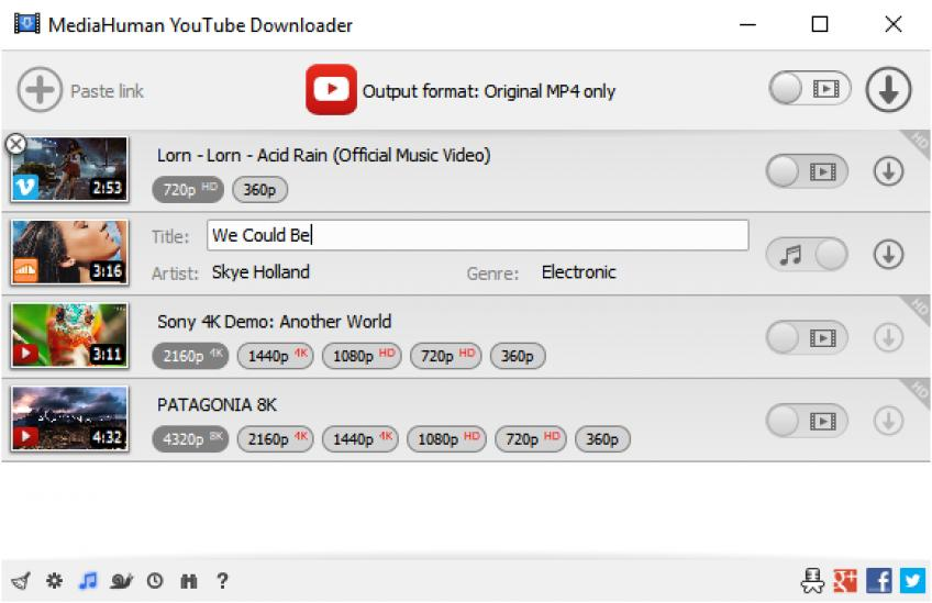 MediaHuman YouTube Downloader v3.9.9.11 (1801) Multilingual