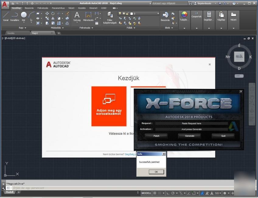 Autodesk AutoCAD v2018 x64 HUN