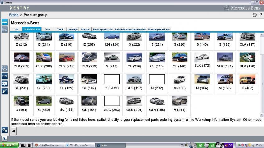 Mercedes Das Xentry Diagnosztika 2012