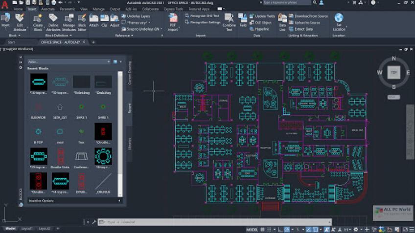 Autodesk AUTOCAD 2021 (x64) cracks
