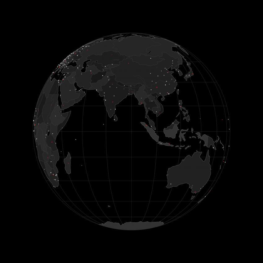 Blindusk - Animated Visual Elements